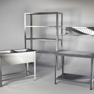 Столы и металлическая мебель